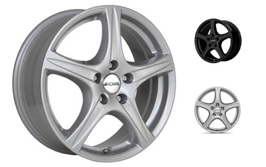 RONAL R56 auton alumiinivanteet netistä